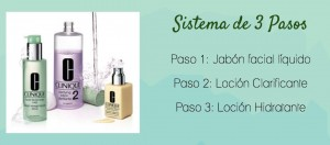 Sistema 3 pasos clinique